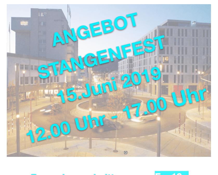 Stangenfest Widnau 2019 Coiffeur Gloria